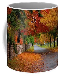 Fall In The Cemetery Coffee Mug