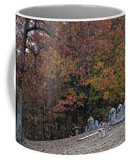 Fall In The Cemetery Coffee Mug