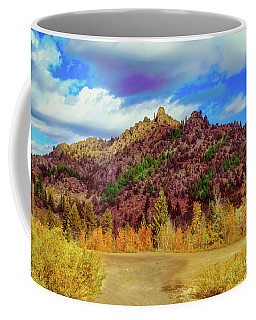 Fall In The Oregon Owyhee Canyonlands  Coffee Mug by Robert Bales