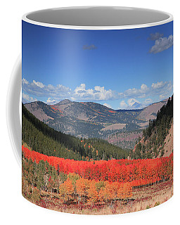 Fall In  Ute Trail  Coffee Mug