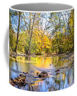 Coffee Mug featuring the photograph Fall In Wisconsin by Steven Santamour