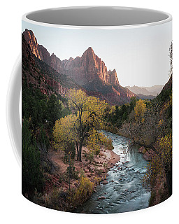 Coffee Mug featuring the photograph Fall In Zion National Park by James Udall