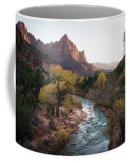 Fall In Zion National Park Coffee Mug