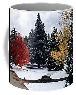 Fall Into Winter Coffee Mug
