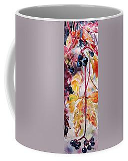 Coffee Mug featuring the painting Fall by Kovacs Anna Brigitta