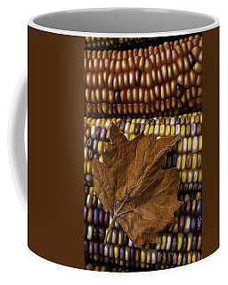 Fall Leaf And Indian Corn Coffee Mug