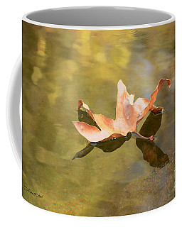 Fall Leaf Floating Coffee Mug