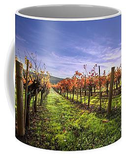 Fall Leaves At The Vineyard Coffee Mug