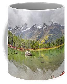 Fall Morning Along String Lake Coffee Mug