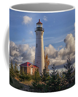 Fall Morning At Crisp Point Coffee Mug