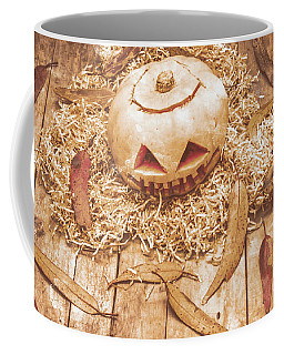 Fall Of Halloween Coffee Mug by Jorgo Photography - Wall Art Gallery