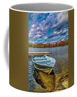 Fall On Alloway Lake Coffee Mug
