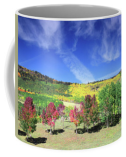 Fall On County Road 12 Coffee Mug