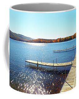 Fall On Lake Dunmore Coffee Mug