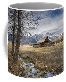 Coffee Mug featuring the photograph Fall On Mormon Row - Grand Teton National Park by Sandra Bronstein