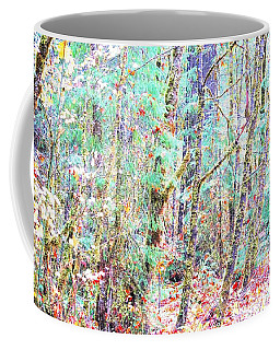 Fall Oregon Forest Coffee Mug