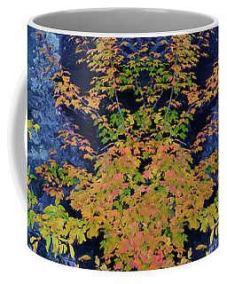 Fall Painting Twins Coffee Mug by Kevin Blackburn