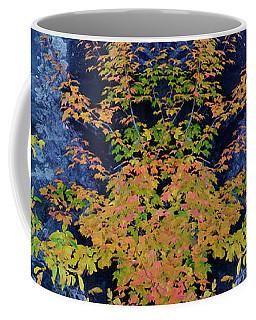 Coffee Mug featuring the digital art Fall Painting Twins by Kevin Blackburn