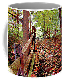 Fall Pathway Coffee Mug