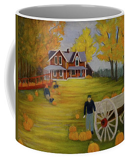 Fall Pumpkin Harvest Coffee Mug