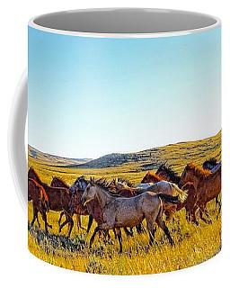 Fall Run In Patina Coffee Mug