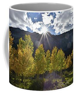 Fall Sun Setting Over Mt. Charleston Coffee Mug