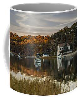 Fall Sunset In Centerport  Coffee Mug