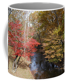 Coffee Mug featuring the photograph Fall Transition by Eric Liller
