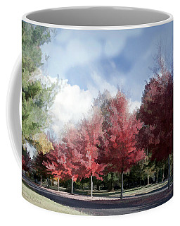 Fall Trees In Tennessee Coffee Mug