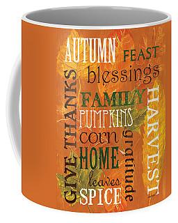 Fall Typography 1 Coffee Mug