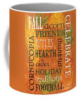 Fall Typography 2 Coffee Mug