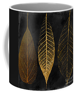 Fallen Gold II Autumn Leaves Coffee Mug
