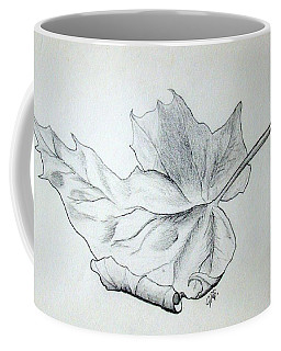 Fallen Leaf Coffee Mug