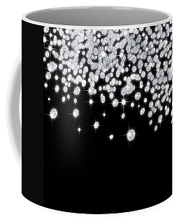 Falling Diamonds Coffee Mug