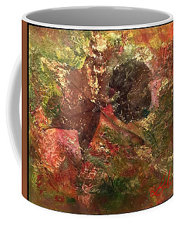 Coffee Mug featuring the mixed media Falling In Love  by Delona Seserman