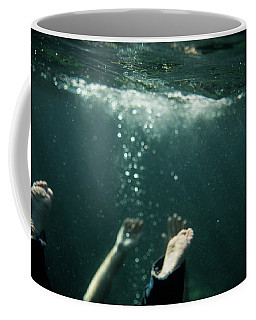 Falling In The Darkness Coffee Mug