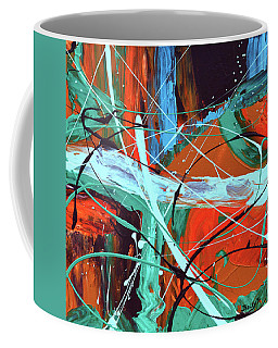 Falling Into Autumn Coffee Mug by Donna Blackhall
