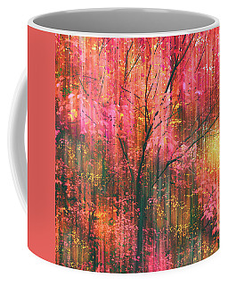 Coffee Mug featuring the photograph Falling Into Autumn by Jessica Jenney