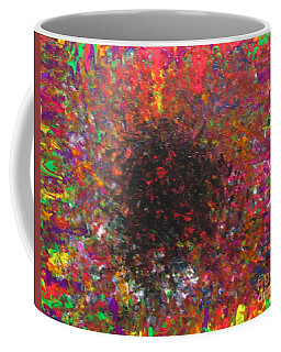 Coffee Mug featuring the painting Falling by Jacqueline Athmann