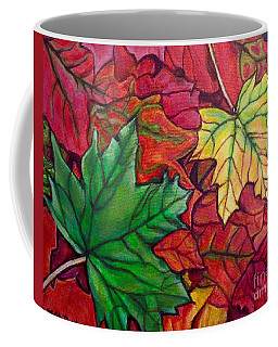 Falling Leaves I Painting Coffee Mug