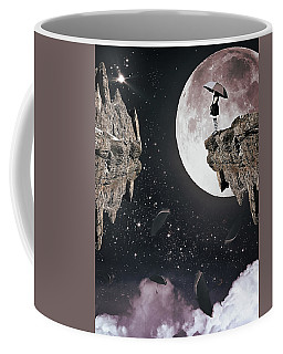 Falling Coffee Mug by Mihaela Pater