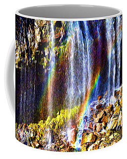 Falling Rainbows Coffee Mug