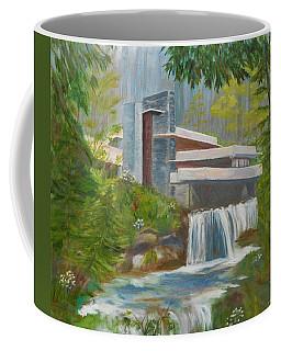 Falling Water Coffee Mug by Jamie Frier