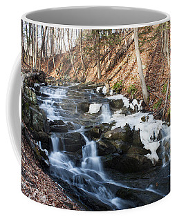Falling Waters In February #1 Coffee Mug by Jeff Severson