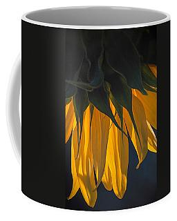 Falling Yellow  Coffee Mug