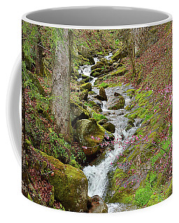 Falls Accented In Pink Coffee Mug