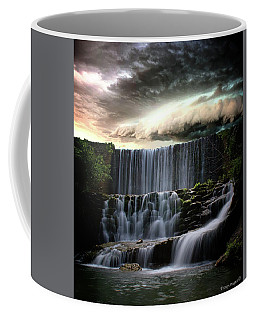 Falls At Mirror Lake Coffee Mug
