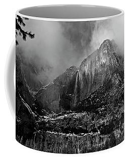 Falls From Fog Coffee Mug