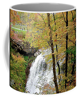 Falls In Autumn Coffee Mug