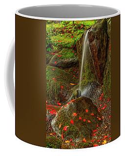 Falls In Seattle Japanese Garden Coffee Mug